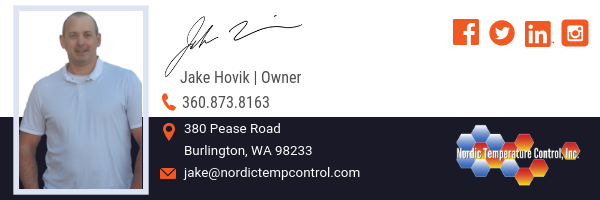 Jake Hovik, Owner | Nordic Temperature Control