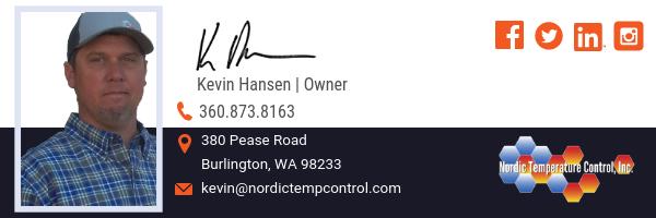 Kevin Hansen, Owner | Nordic Temperature Control